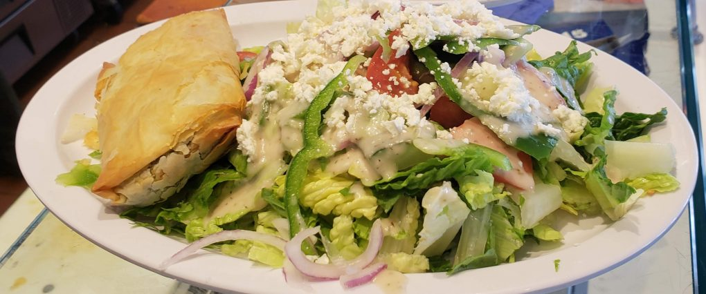 spanakopita salad